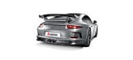 Akrapovic GT3/RS Carbon Fiber Rear Diffuser