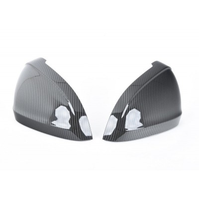 Audi B9 Carbon Fiber Mirror Covers
