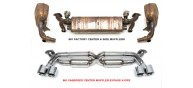 Fabspeed 991 Carrera Supersport X-Pipe Exhaust System