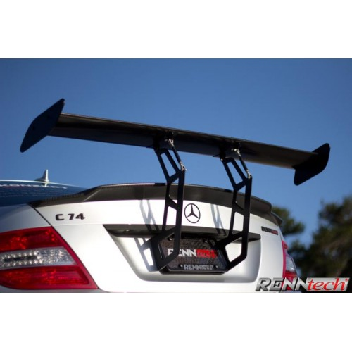 RENNtech Carbon Fiber Rear DTM Style Adjustable Wing