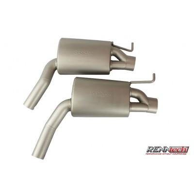 RENNtech Stainless Steel Sport Mufflers