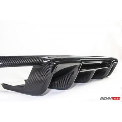 RENNtech Carbon Fiber Rear Diffuser