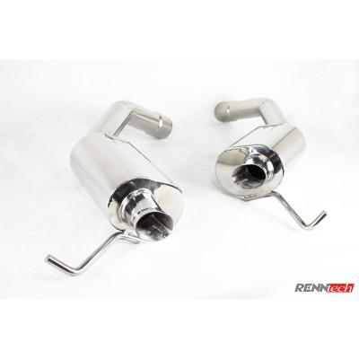 RENNtech Stainless Steel Sport Mufflers E550