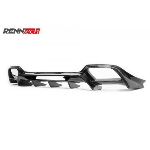 RENNtech Carbon Fiber Rear Diffuser AMG GTS