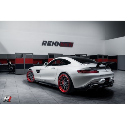 RENNtech Carbon Fiber Side Rocker Panels AMG GTS