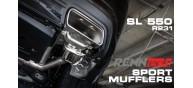 RENNtech Stainless Steel Muffler