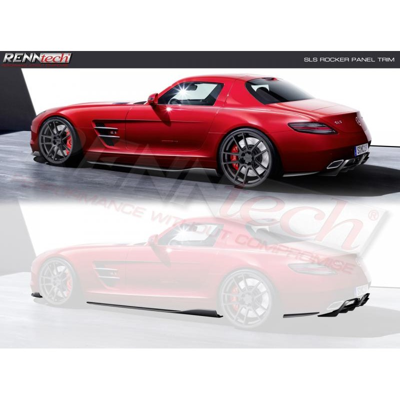 RENNtech | Carbon Fiber | Side Skirts (4pc ) | C197 | SLS AMG/GT