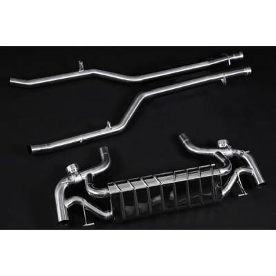 RENNtech Stainless Steel Valved Sport Exhaust System SLS