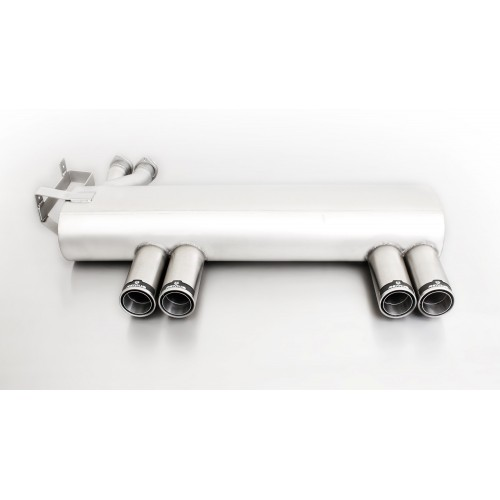Remus E46 M3 Axle Back Exhaust