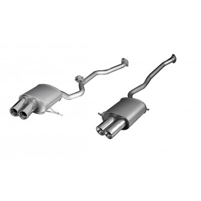 Remus E53 Axle Back Exhaust