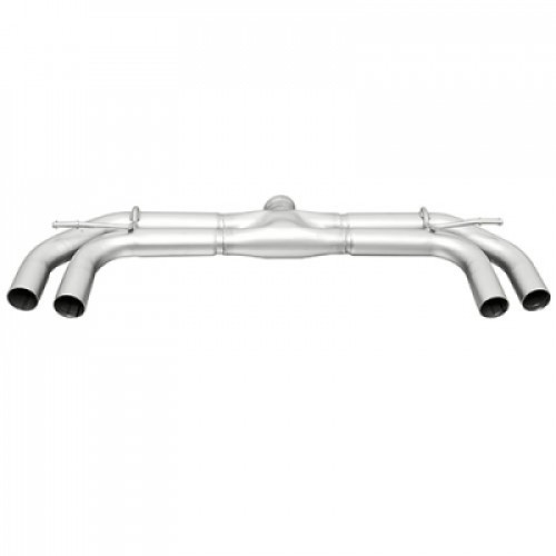 Remus MK7 Non-Res Cat Back Exhaust w/Rear Diffuser