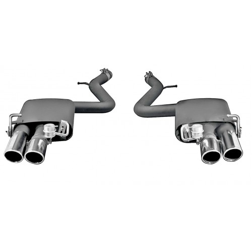 Remus W222 Axle Back Exhaust