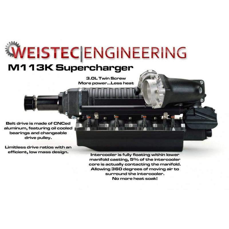 Weistec M113K Supercharger System E55