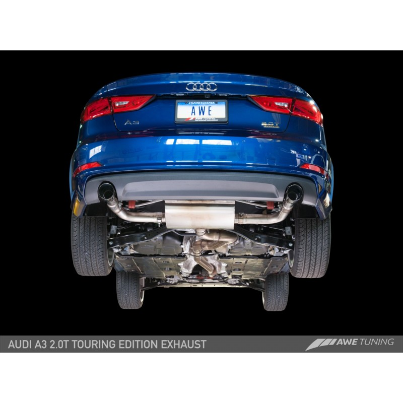 Awe Tuning Touring Edition Exhaust Dual Outlet: Audi A3 Exhaust At Woreks.co