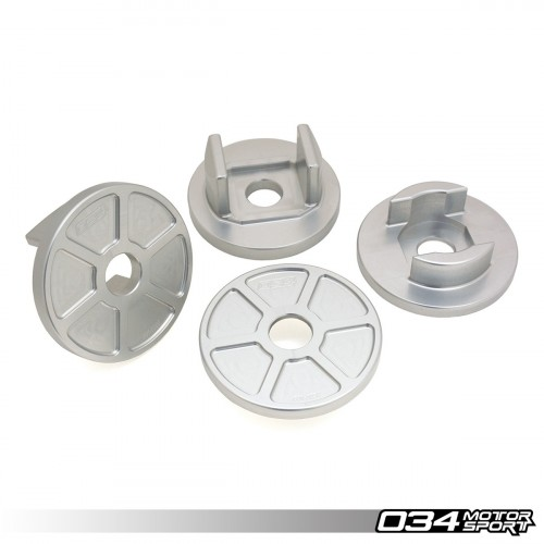 034 Motorsport Billet Rear Subframe Mount Inserts