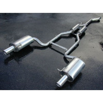 Milltek 1.8T Cat Back Exhaust Non Resonated