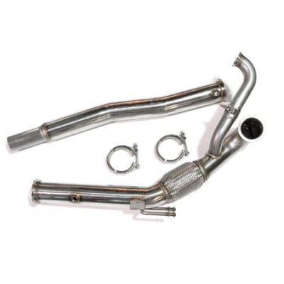 "ATP Turbo - 3"" GT V-band Downpipe, for GT30/GT35"