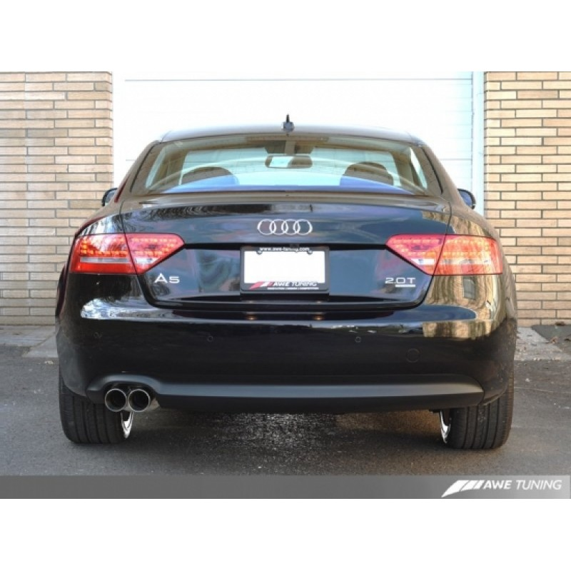 AWE Tuning 2.0T Touring Edition Single Outlet Exhaust For