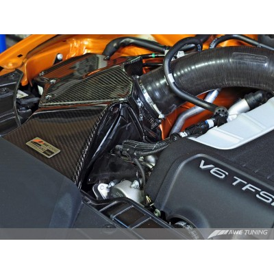 AWE Tuning 3.0T S-FLO Carbon Kit for B8