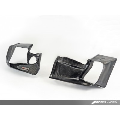 AWE Tuning Audi 2.7T Intercooler Carbon Fiber Shrouds