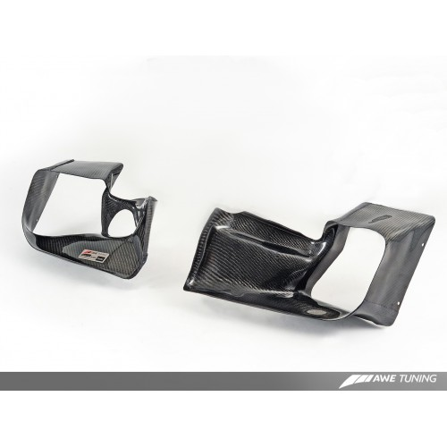 AWE Tuning 2.7T Intercooler Carbon Fiber Shrouds