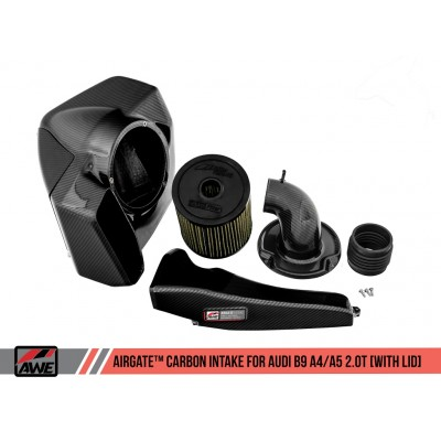 AWE AirGate Carbon Intake for B9 A4/A5