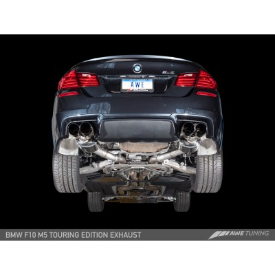 AWE Touring Edition Axle Back Exhaust for F10 M5