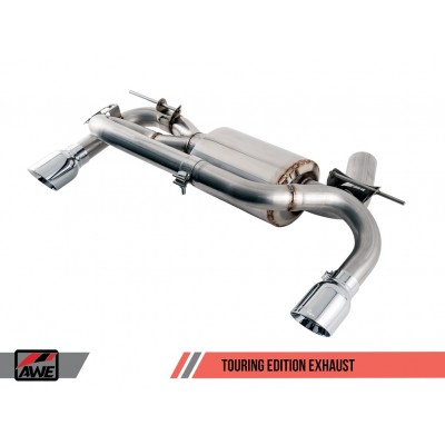 AWE Tuning Axle Back F3X Touring Edition Exhaust