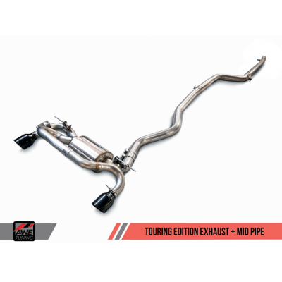 AWE Tuning BMW F3X 340i Touring Edition Axle Back Exhaust