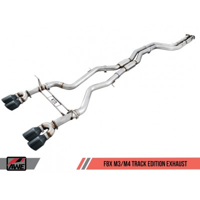 AWE Tuning Track Edition Exhaust (90mm)