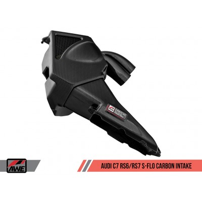 AWE Tuning RS7 S-FLO Carbon Intake