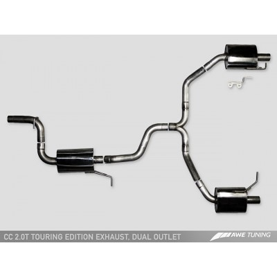 AWE Tuning Dual Outlet Touring Edition Exhaust
