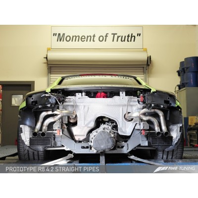 AWE Tuning Audi R8 4.2L Straight Pipes (08-12)