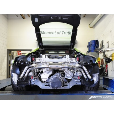 AWE Tuning 4.2L Spyder SwitchPath Exhaust (2011-2012)