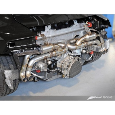 AWE Tuning V10 Spyder SwitchPath Exhaust (14+)