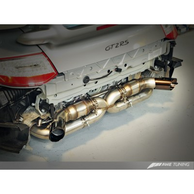 AWE Tuning Performance Exhaust for GT2RS