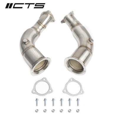 CTS Turbo High Flow Cats for B9 RS5