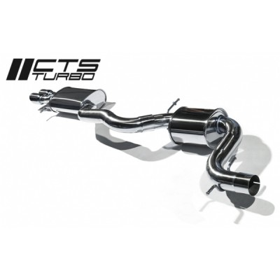 "CTS Turbo 3"" Cat Back Exhaust"