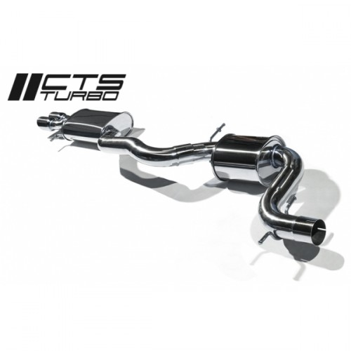 "CTS Turbo Gen3 3"" Cat Back Exhaust"