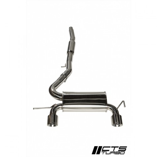 "CTS Turbo 225Q 3"" Cat Back Exhaust"