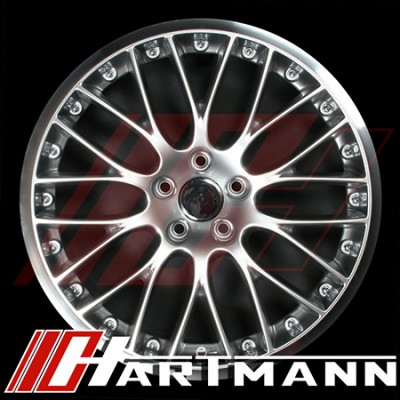 Hartmann - Euromesh 3 Replicas - Gloss Silver Finish
