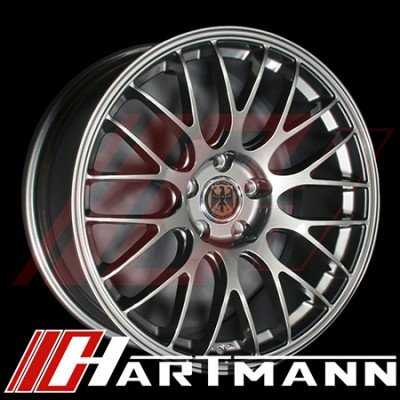 Hartmann - Euromesh 4 Replicas - Anthracite Finish