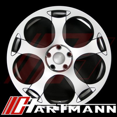 Hartmann - G5 Replicas - Gloss Silver Finish