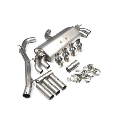 Milltek Non-Resonated Valved Cat Back Exhaust