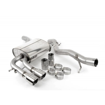 Milltek A3 8P Turbo-Back Exhaust