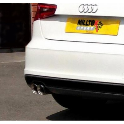 Milltek A3 TDI Cat Back Exhaust