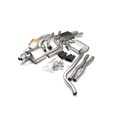 Milltek B8 3.0T Cat-Back Exhaust - Valvesonic