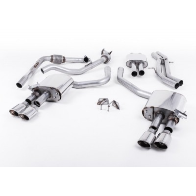 Milltek B9 S4 Cat Back Res Exhaust