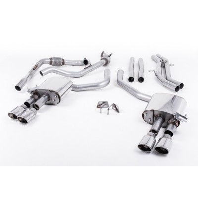 Milltek B9 S4 Cat Back Non-Res Exhaust