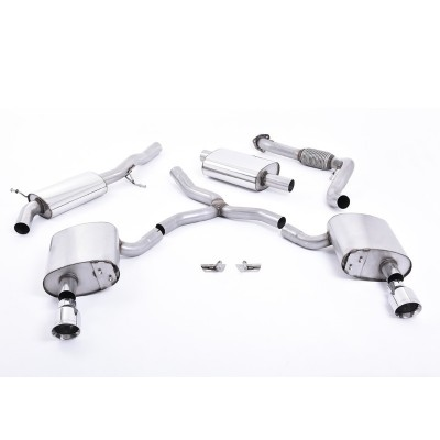 Milltek Cat Back Exhaust System Resonated